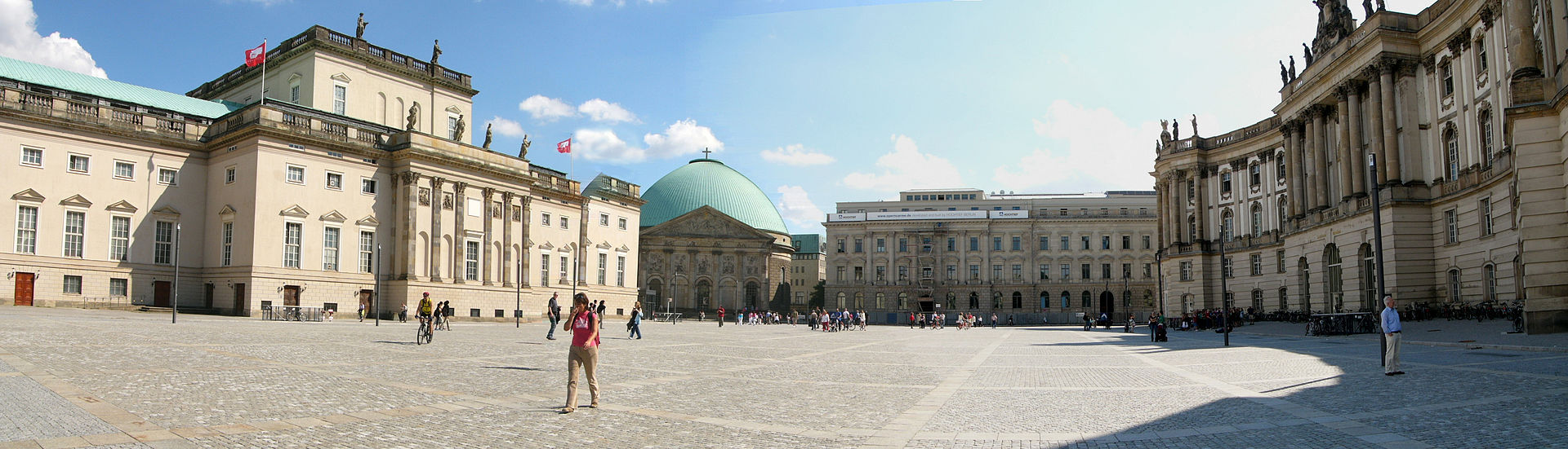 Bebelplatz looking South
